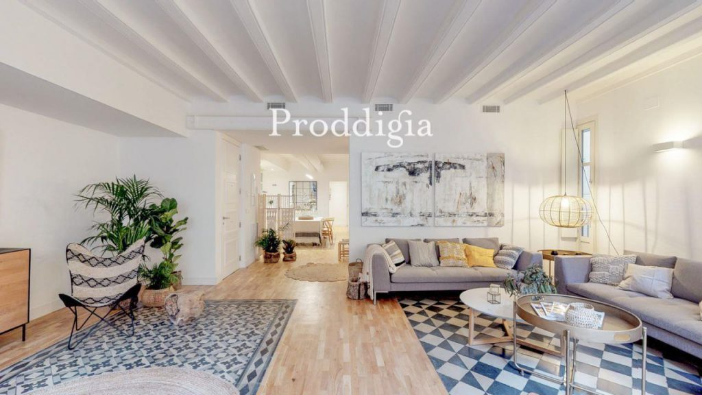 73414131 2737104 foto 492172 1024x576 - If you are a lover of the modern mid-century, your perfect apartment is in Barcelona