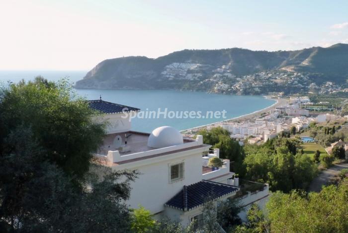 741 - Wonderful Holiday Rental House in La Herradura, Granada