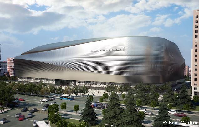 760 - Madrid Rejects Current Renovation Plans for Real Madrid's Santiago Bernabéu Stadium