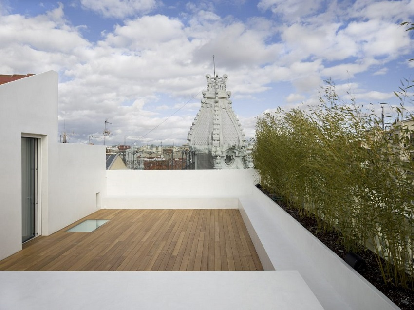 8. Apartment in Madrid by Abaton Architects - Modern Penthouse Apartment in Madrid by Abaton Architects