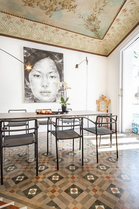 8. Flat in Eixample, Barcelona, by Squad One