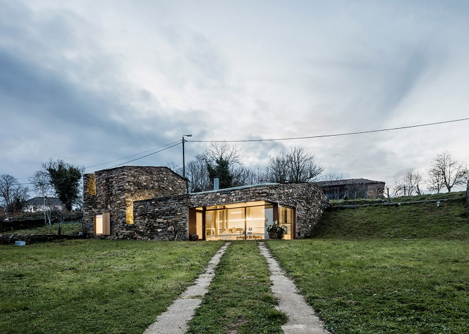 8. Stone wine cellar converted into home in Galicia