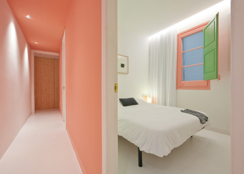 8. Tyche Apartment Barcelona - Renovated Apartment in Barcelona by CaSA Architecture