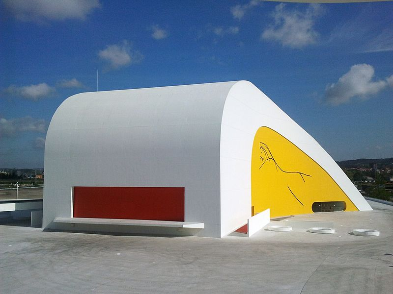 800px CentroNiemeyer80 - Centro Niemeyer, Avilés, Asturias