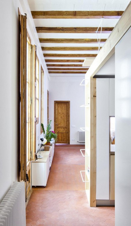 9. Apartment Refurbishment in Barcelona