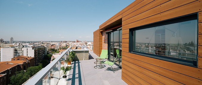 9. Madrid Penthouse by i arquitectura - A Chalet in the Sky of Madrid by i! arquitectura