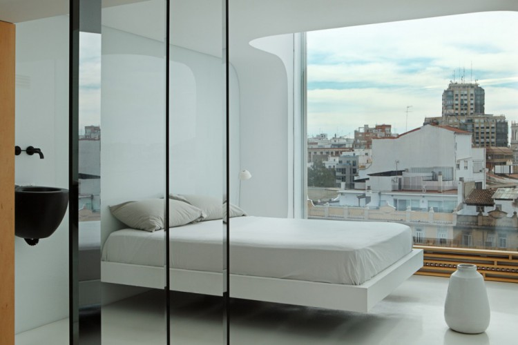9. Penthouse in Valencia by Josep Ruà