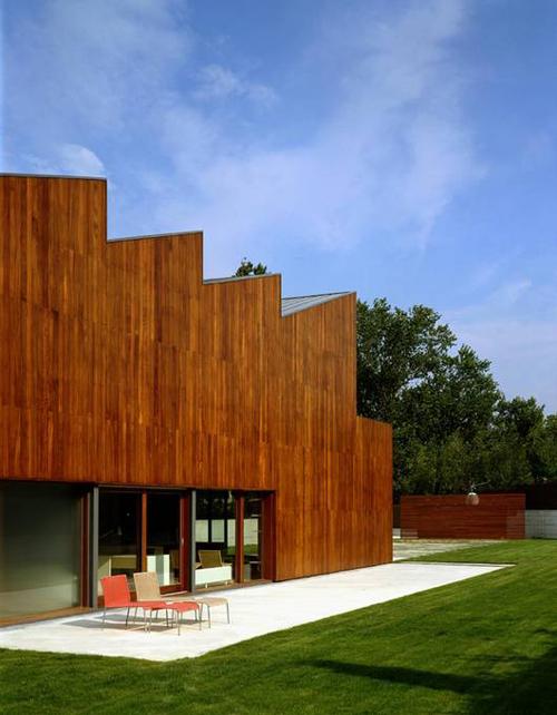 A modern house