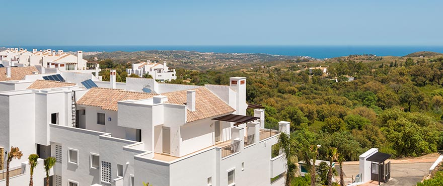 A4 La Floresta sur Exterior property for sale2 jun16 - Last apartments and penthouses with sea view in Elviria - Marbella. Now key ready