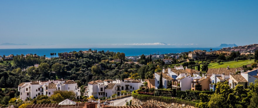 Last 3 bed apartments with large terraces in Benahavís (Malaga). Now key ready