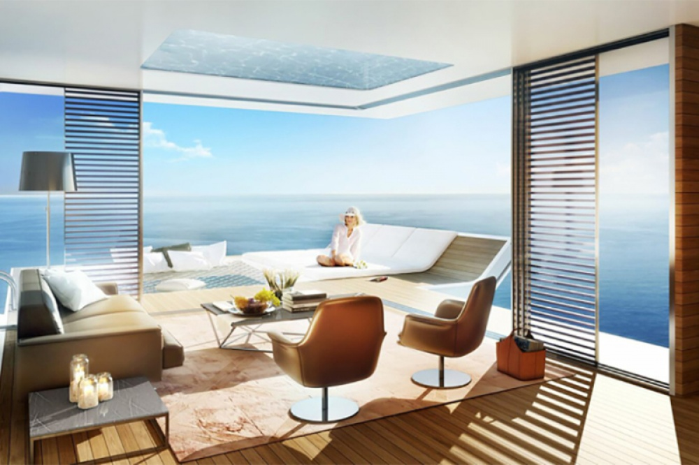 AD Dubai Spectacular Floating Apartments With Underwater Rooms 05 - Dubai shows a new project: spectacular floating apartaments with underwater rooms