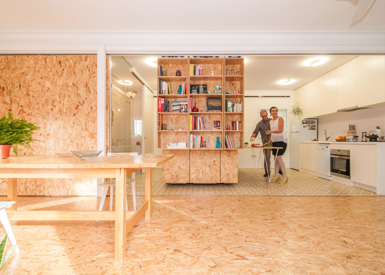 All I Own 2 - All I Own House: Multifunctional Space in Madrid Apartment