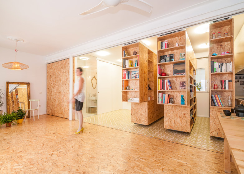 All I Own 5 - All I Own House: Multifunctional Space in Madrid Apartment