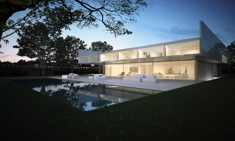 Aluminum House in Madrid - Reflective Aluminum House in Madrid by Fran Silvestre Arquitectos
