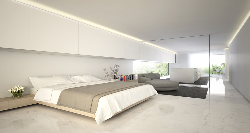 Aluminum House in Madrid5 - Reflective Aluminum House in Madrid by Fran Silvestre Arquitectos