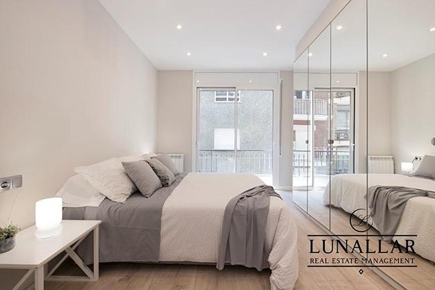 BALCON DORMITORIO SARRIA - Discover this fabulous flat located in an exclusive and prestigious area of Barcelona city