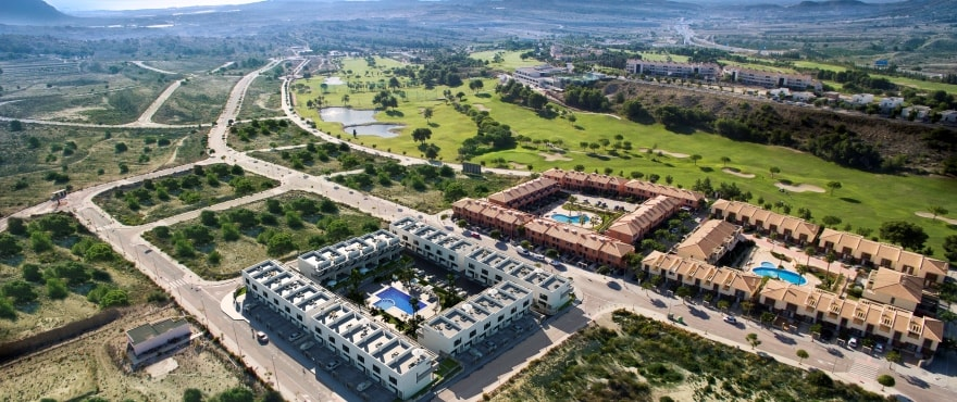 C2 Kiruna Residencial Alenda golf - New townhouses for sale in Alenda Golf (Alicante) from €173,000. Best value for money in the area