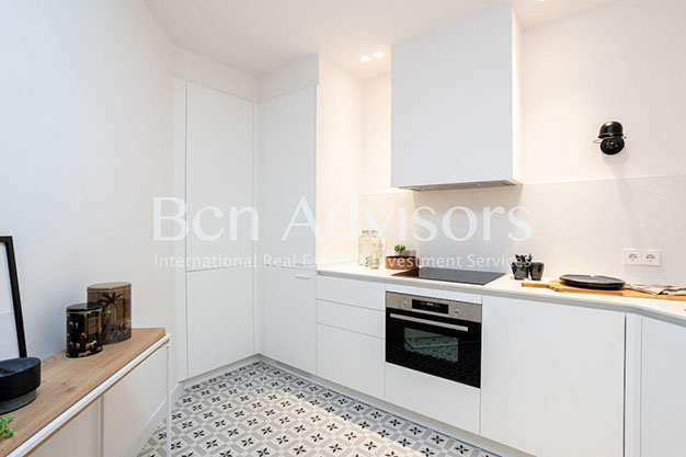 COCINA BARCELONA - You'll love this unique flat for sale in Barcelona
