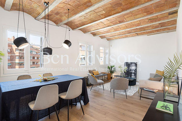COMEDOR BARCELONA 2 - You'll love this unique flat for sale in Barcelona