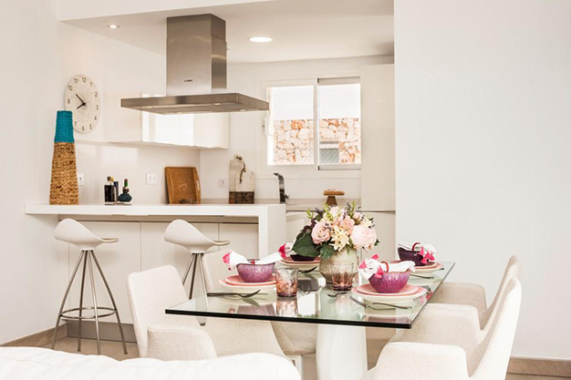 COMEDOR COCINA MALLORCA - Personalise your new home: Newly built luxury villas in Mallorca