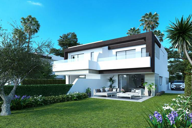 Calidades de lujo y jardin privado en estos increibles pareados en Malaga - Luxury features and a private garden in these incredible duplexes in Málaga