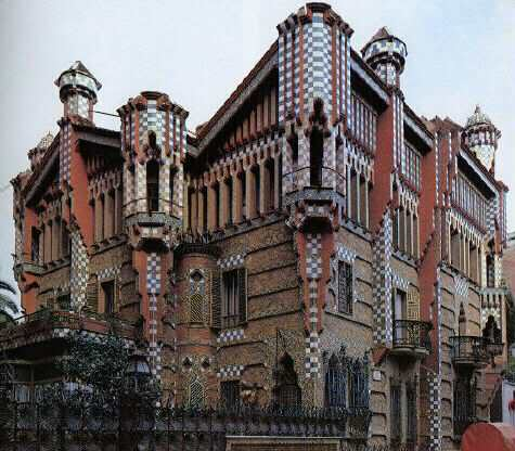 CasaVicens5 - Architecture in Spain: Casa Vicens by Antoni Gaudí, Barcelona