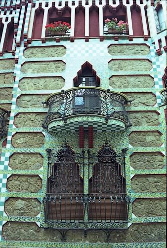 CasaVicens6 - Architecture in Spain: Casa Vicens by Antoni Gaudí, Barcelona