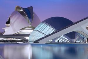Ciutat-de-les-Arts-i-les-Ciències-in-Valencia-Spain