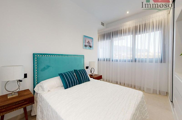 DORMITORIO 2 4 - This luxury villa in Benidorm is the perfect house: a pool, garden, solarium and much more