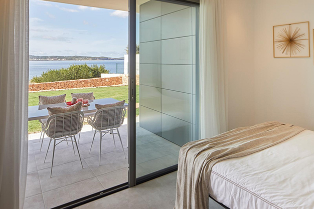 DORMITORIO 2 VENTANA - If you are looking for sea views, you'll love this luxury apartment in Ibiza