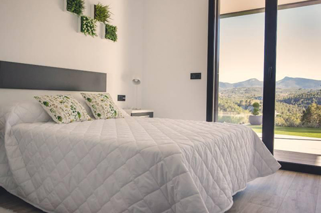 DORMITORIO DOBLE - This countryside house in Alicante will fill you with energy every day