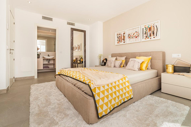DORMITORIO PRINCIPAL - Personalise your new home: Newly built luxury villas in Mallorca
