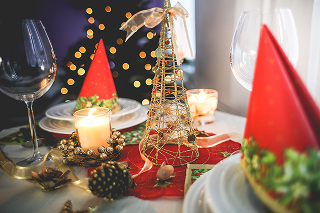 DecoNavidad mesa2 - Ideas to decorate your home at Christmas in an original way