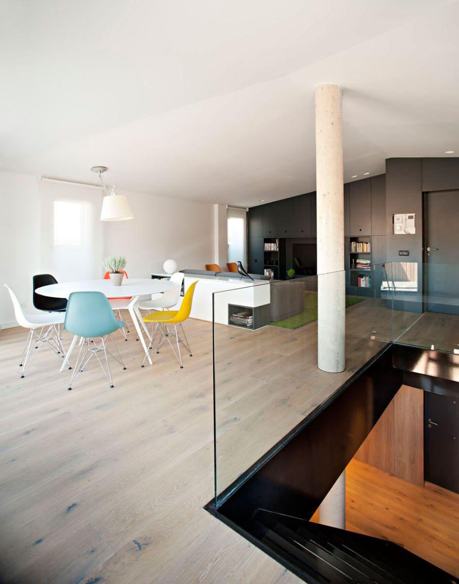 Duplex in La Rioja7 - Spanish Architecture: Gorgeous Duplex in La Rioja