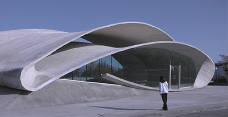 El Casar Bus Station, Caceres, Spain