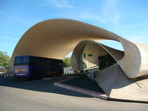 El Casar Bus Station, Caceres, Spain