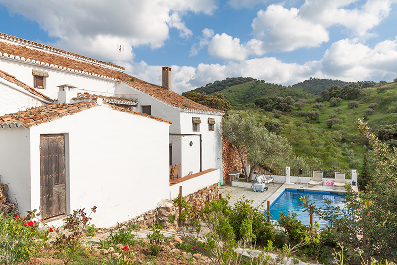 El romeral 2 - El Romeral: Rustic cottage in the mountains of Malaga, Andalusia