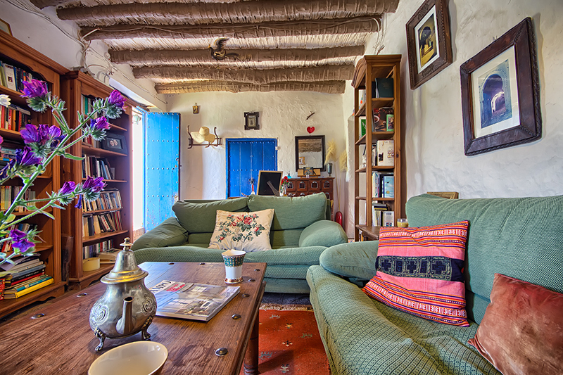 El romeral 5 - El Romeral: Rustic cottage in the mountains of Malaga, Andalusia