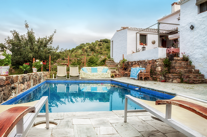El romeral 8 - El Romeral: Rustic cottage in the mountains of Malaga, Andalusia