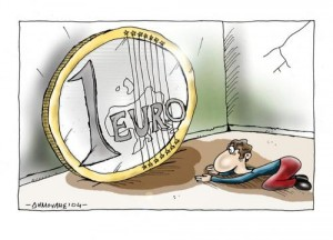 Euro 300x216 - New Push to Uphold Spanish Banks