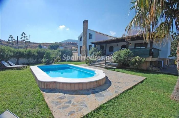 Holiday rental detached villa in Benalmádena Costa (Málaga)