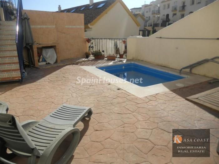 Holiday rental terraced house in Fuengirola (Málaga)