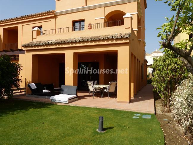 Holiday rental terraced house in Sotogrande (Cádiz)