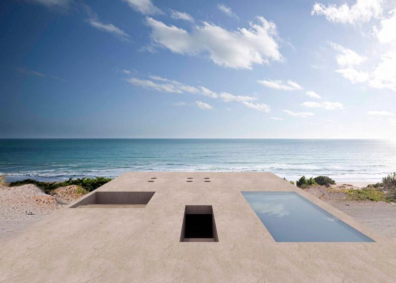 House of the infinite Cadiz9 - House of the Infinite by Alberto Campo Baeza, Cádiz