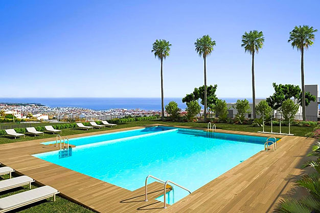 IMAGEN PISCINA - Luxury apartment in Estepona with private garden and sea views: the total package