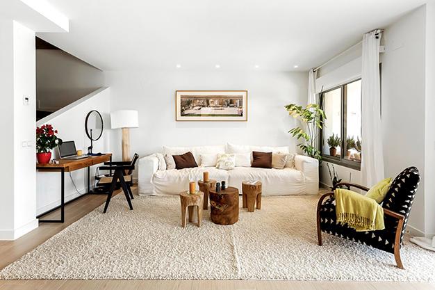 IMAGEN SALON - Enjoy nature and the sea in this luxury villa in Benalmádena (Málaga)
