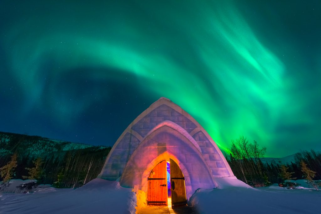 Igloo Under The Aurora VW 1024x683 - The best ice hotels for true winter lovers