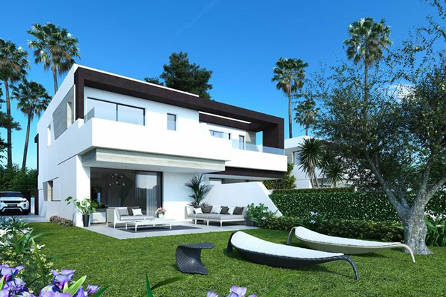 JARDIN CHALETS MALAGA - Luxury features and a private garden in these incredible duplexes in Málaga