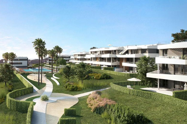 Jardines - Luxury homes in Málaga close to the coast and golf courses