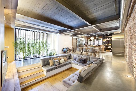 Loft in Terrassa1 - Contemporary Residential Design: Captivating Loft in Barcelona